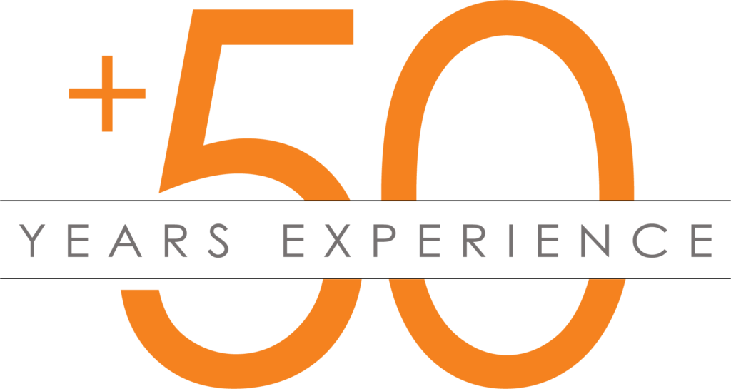 +50 Years of Experience