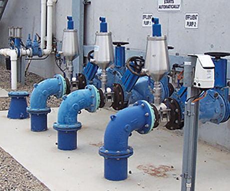 Example of AVFI valve installation