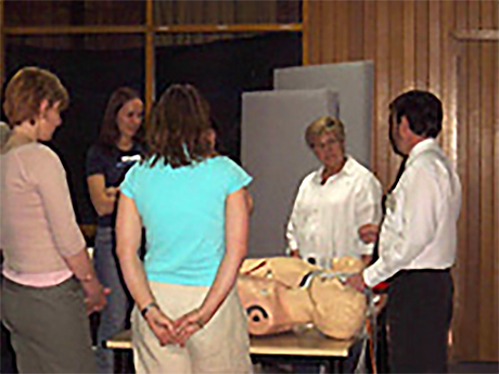 CCES trainer delivering a professional development course