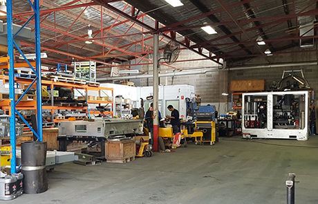 Metco's factory workshop