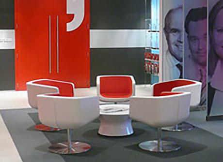 Example of Schamburg + Alvisse commercial furniture in situ