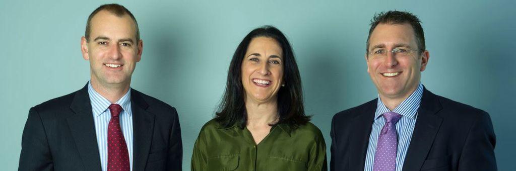 Directors Benn Oppy & Adrian Ness with Senior Advisor Laura Engstrom