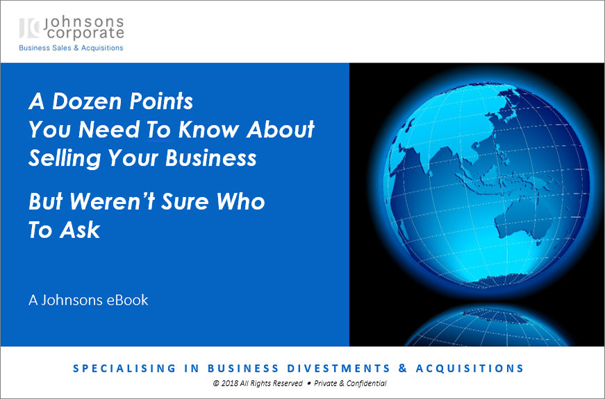 eBook: A Dozen Points You Need to Know About Selling Your Business... But Weren't Sure Who to Ask